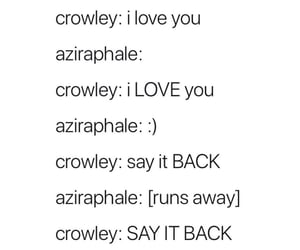 aziraphale, crowley, and fandom image