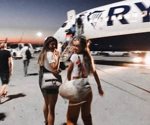 travel, best friends, and friendship image