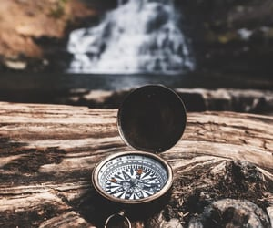 adventure, compass, and wanderlust image