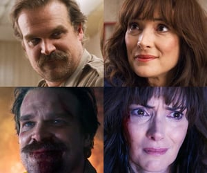 tv series, love, and david harbour image