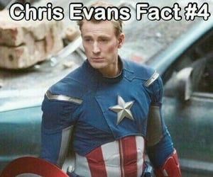 cast, chris evans, and fact image