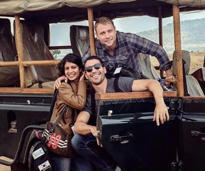 max riemelt, miguel angel silvestre, and tina desai image