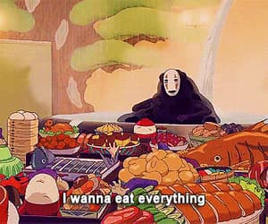 anime, delicious, and funny moments image