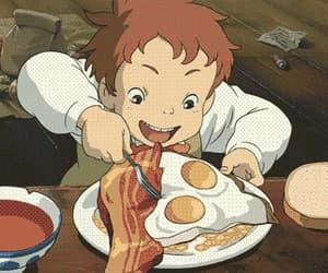 anime, eating, and food image