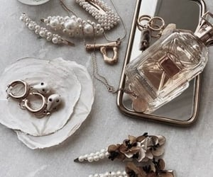 accessories, jewelry, and perfume image