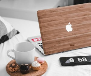 coffee, morning, and work image