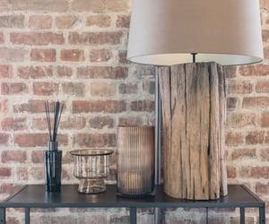 brick, brick wall, and interior image