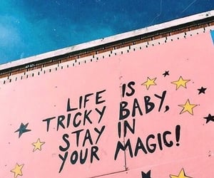 quotes, pink, and magic image