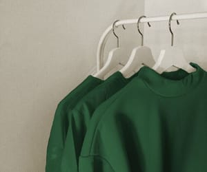 green and clothes image