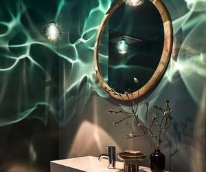 green, bathroom, and design image