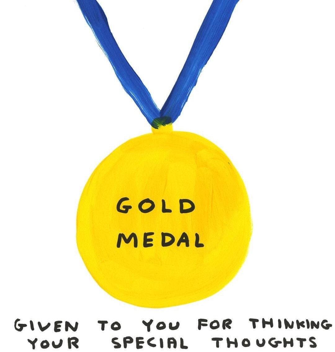 medal, sarcasm, and words image