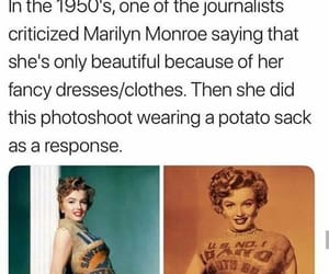 Marilyn Monroe, feminism, and funny image
