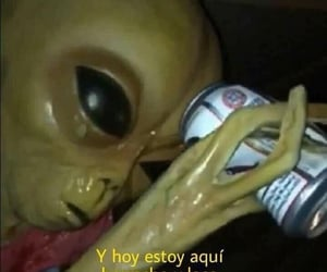 alien, frases, and meme image