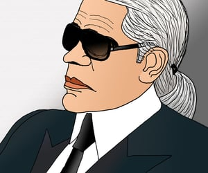 caricatura, caricature, and chanel image