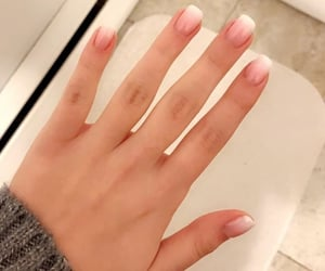 girly, nails, and simple image