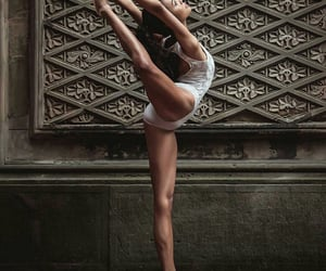 ballerina, dancer, and on point image