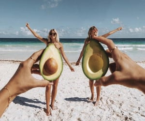 avocado, fabulous, and funny image