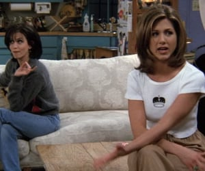 90s, fashion, and monica geller image