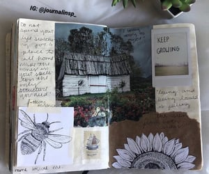 aesthetic, journaling, and minimal image