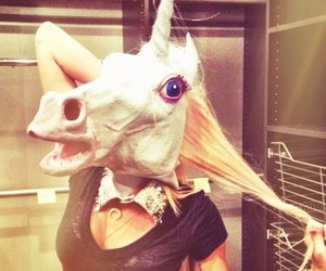 unicorn, miley cyrus, and miley image
