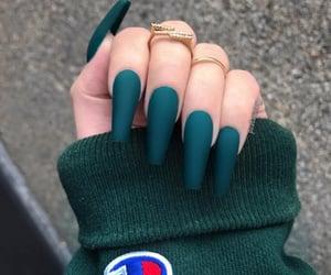 nails, green, and champion image