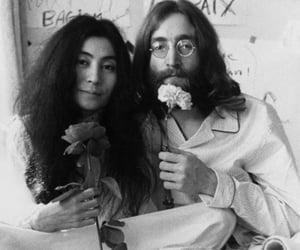 john lennon, imagine, and Yoko Ono image