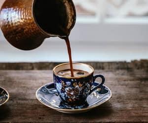 coffee, drink, and turkish coffee image