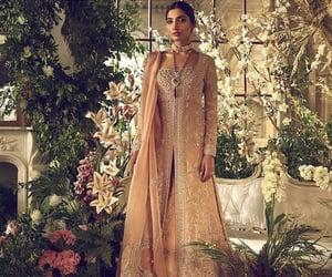 bride, pakistani, and rose gold image