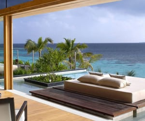 luxury, beach, and house image