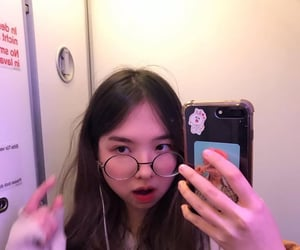korean girls, ulzzang, and cowsel image