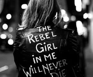 girl, rebel, and black and white image