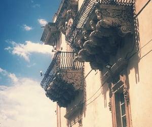 balcony, sicilia , and noto image