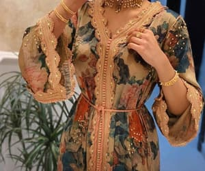 arabic, moroccan fashion, and floral image