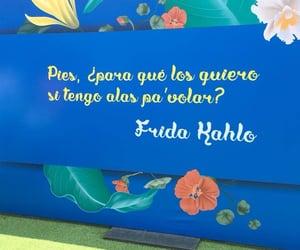 frase, frases, and frida kahlo image