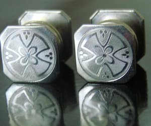 etsy on sale, engraved cufflinks, and vintage mens jewelry image