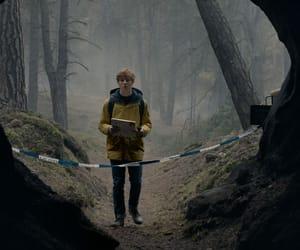article, tv series, and dark image