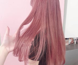 color hair, girly, and hairstyle image