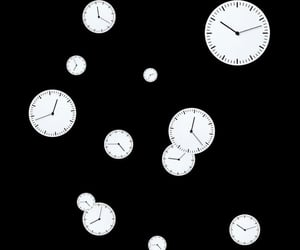 overlay, clock, and png image