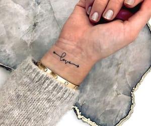 arm, bracelet, and gold image