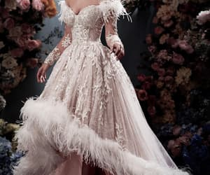 ball gown, gown, and haute couture image