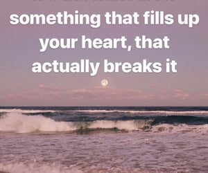 broken, quote, and heart image