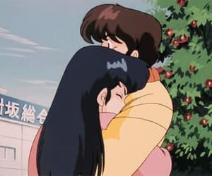 crush, gif, and anime couple image