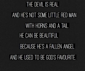 Devil, quotes, and ahs image