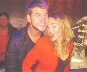 couple, miam, and miley image