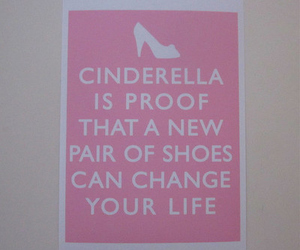 cinderella, shoes, and pink image
