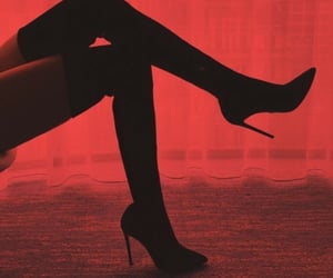 heels, red, and aesthetic image