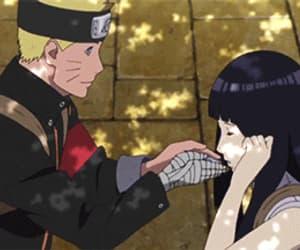 anime girl, gif, and romance image