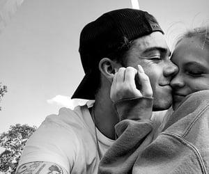 black & white, boy, and boyfriend image