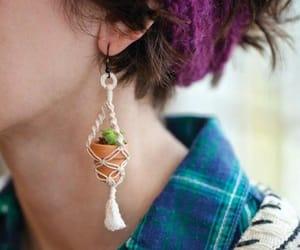 diy, earring, and diy earrings image