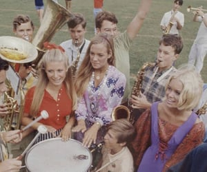 vintage, 60s, and high school image